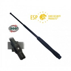 "DEFENSA EXTENSIBLE ESP 21"" ACERO TEMPLADO RESISTENTE COLOR NEGRO CON FUNDA GIRATORIA INCLUIDA ( MOD. HARDENED)"