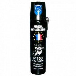 SPRAY DEFENSA PERSONAL GAS CS DE GEL 75 ML GRAN ALCANCE INTERIOR Y EXTERIOR