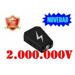 DEFENSA ELECTRICA MODELO ERGONOMICO SUPERPOTENTE CON 2 MILLONES DE VOLTIOS Y DESCONECTOR DE SEGURIDAD