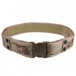 Cinturon tactico en nylon balistico de alta resistencia en color Camo para uso profesional