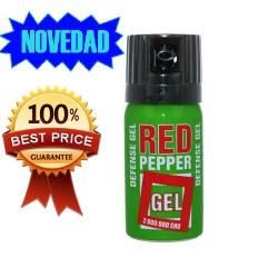 SPRAY DEFENSA PERSONAL PIMIENTA RED PEPPER GEL 40 ML
