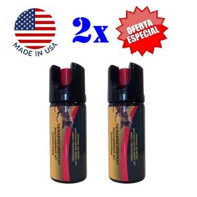 Spray Defensa Personal de pimienta GEL para defensa contra animales peligrosos y atacantes 40gr