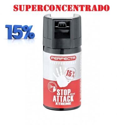 SPRAY DEFENSA PERSONAL XTREM STOP ATACK PIMIENTA 15% CONCENTRADO