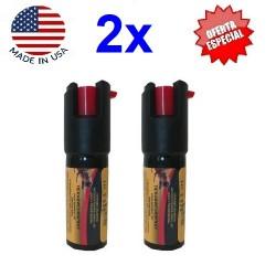 Spray Defensa Personal de pimienta GEL para defensa contra animales peligrosos y atacantes 11gr