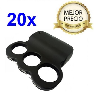 DEFENSA ELECTRICA 3 DEDOS DOBLE ARCO CON UNA POTENCIA DE 3 MILLONES