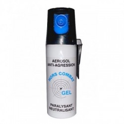 SPRAY GAS CS GEL DEFENSA PERSONAL 50 ML MODELO COMBAT