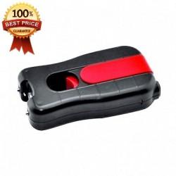 DEFENSA ELECTRICA STUN GUN MOD. 802 ERGONOMICO CON 3.800.000 VOLTS Y LED DE 130 LUMENS