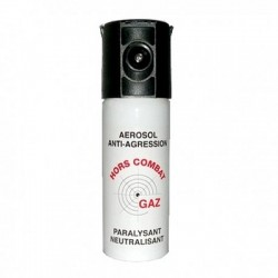 SPRAY DEFENSA PERSONAL GAS CS ALTA CONCENTRACIÓN MODELO COMBAT 50 ML